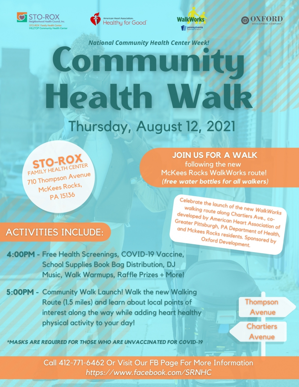 Community Walk Flyer